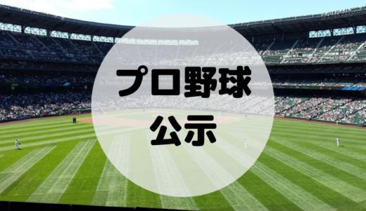 【最新版】プロ野球の公示とは?発表される時間と確認方法、ルールを徹底解説!
